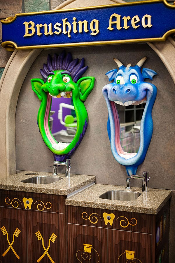 Dragon Mirrors and Sinks